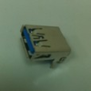 Cable Assemblies and IO cable connectors, IO cable connectors, USB Series, USB Standard Type A and Type B, USB 3.0, Orientation=Right Angle -- 10117835-001LF - Image