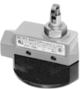 MICRO SWITCH E6/V6 Series Medium-Duty Limit Switches, Cross Roller Plunger (90°, Rotated Plunger) Actuator, 1NC 1NO SPDT Snap Action, 0.5 in - 14NPT conduit -- BZE6-2RN81 -Image