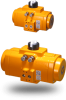 Pneumatic Valve Actuator -- F Series -- View Larger Image
