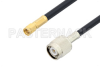 SMA Male to TNC Male Cable 48 Inch Length Using PE-C240 Coax -- PE38642-48 -Image
