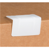 "1 7/8"" x 1"" - White - Plastic Strap Guards -- SPP34 - Image"
