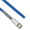 Halogen Free Cable Assembly TRB 3-Slot Plug with Bend Relief to Blunt MIL-STD-1553 .242