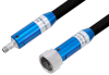 VNA Ruggedized Test Cable 3.5mm Female to 3.5mm NMD Female 27GHz 36 Inch Length, RoHS -- PE3VNA2610-36 -Image