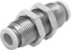 QBS-5/32T-U Push-in bulkhead connector -- 564748 -Image