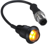 Barrel Mount Indicators -- EZ-LIGHT® S18DLH High Intensity General Purpose Indicators - Image