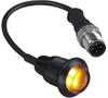 Barrel Mount Indicators -- EZ-LIGHT® S18DLH High Intensity General Purpose Indicators