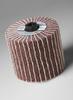 3M Scotch-Brite CB-MF Coated Aluminum Oxide Flap Wheel - 100 Grit - 4 in Face Width - 4 1/2 in Diameter - 55742 -- 051141-55742 - Image