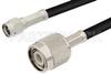 SMA Male to TNC Male Cable 24 Inch Length Using PE-C195 Coax -- PE36058-24 -Image