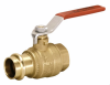Full Port Ball Valve FIP x Press-End DRZ Brass -- 560