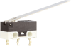 MICRO SWITCH ZX Series Subminiature Basic Switch, SPDT, 48 Vdc, 0.1 A, Straight Lever Actuator, PCB Snap-in Termination -- ZX10C30J01 -Image