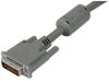 Premium DVI-I Dual Link DVI Cable Male / Male w/ Ferrites, 15.0ft -- MDA00018-15F -Image