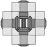 Bevel Gearbox WG 360° D -- 0.0.408.27
