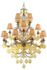 77-016 Large Chandeliers-Candle -- 417181