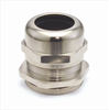 Dome-Cap™ Strain Relief Connectors -- Nickel-Plated Brass Dome Cap Connectors with NPT or PG Threads