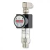 DS201P High Range Flush Diaphragm Pressure Gauge, Switch and