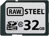 Hoodman - RAW Steel 32GB Class 10 SDHC