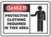 Label,Protective Clothing Required,PK5 -- 8NKK9