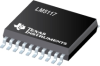 LM5117 5.5-65V Wide Vin, Current Mode Synchronous Buck Controller with Analog Current Monitor -- LM5117PMHE/NOPB