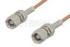 SMC Plug to SMC Plug Cable 24 Inch Length Using RG178 Coax, RoHS -- PE3902LF-24 -Image