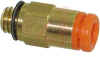 Fitting; 1/8 in.; 7 mm; M5; 16.7 mm; 1.0 MPa (Max.); PBT, PP; brass -- 70070889