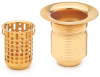 Strainer Drain with Basket: Nº 16108 -- 16108