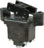 TP Series Rocker Switch, 2 pole, 2 position, Screw terminal, Flush Panel Mounting -- 2TP8-3 -Image