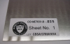 CO-NETIC B Sheet Stress Annealed -- CBS025-9-120