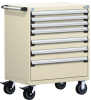 Heavy-Duty Mobile Cabinet, 7 Drawers (36
