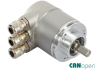 POSITAL IXARC CANopen Multi-turn Stainless Steel Absolute Rotary Encoder -- CANopen