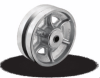 Cast Iron V-Groove Wheels -- VG/VL Series