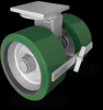 Aviation Ground Equipment Casters -- 298 Series -- View Larger Image
