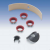 Maintenance Free Bearing with Metal Backing -- NORGLIDE® T