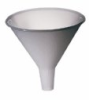 808HT - Polypropylene utility funnel, 8 oz (Polypropylene) -- GO-06122-30