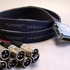Flexygy DA88 8Ch Flat FLX DB25-XLRM 20' -- 20DA88FLX-DB25XP-020