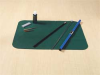 Tool Cleaning Mat,16 In Lx20 In W,Green -- 3WDE8