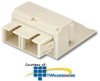Panduit® Mini-Com SC Fiber Optic Adapter Modules -- CMSAQSCBL