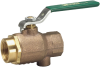 Full Port Bronze Ball Valve -- Series B6081