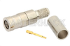 SMB Plug Connector Crimp/Solder Attachment for RG58, RG303, RG141, PE-C195, PE-P195, LMR-195, 0.195 inch -- PE4523 -- View Larger Image