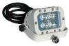 LED Light Emitter on Trunnion Wall Mount - Extreme Environment - 12 Watt - 90'L X 70'W Beam- 9-42VDC -- LEDLB-4ET