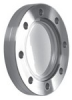 ISO & CF Zero Length Viewport, 7056 Glass - Image