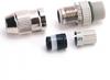 Micro D-Code, QD Style Ethernet Media -- 1585D-M4HB-2 -Image