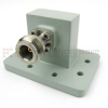 WR-112 to Type N Female Waveguide to Coax Adapter PDR84 Standard with 7.05 GHz to 10 GHz X Band in Aluminum -- SMW112ACNG - Image