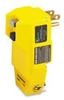 Straight Blade, Ground-Fault, Angle Plug 15A 125V 2P -- 78678828425-1 - Image