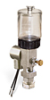 """(Formerly B1763-13X01), Single Feed Electro Lubricator, 2 1/2 oz Polycarbonate Reservoir, 5/8""""-18 Thread for Remote Mounting, 1/8"""" Female NPT Outlet, 24VDC -- B1763-0021B1S5024DW -- View Larger Image"""