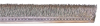 Industrial Brushes - Strip Brushes - Stainless Steel Strip Brush - #4 -- MB404684