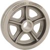 R-3676 Double Flanged Steel Wheel