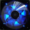AeroCool Streamliner 140mm Fan (w/ 120mm adaptor) - Black -- 20046 -- View Larger Image