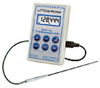 Digi-Sense Calibrated Scientific Thermistor Thermometer, USB probe -- GO-90080-09