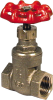 1/2 in. Brass Gate Valve -- 5713060
