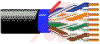 INDUSTRIAL ETHERNET, COPPER, BONDED PAIRS, UNSHEILDED, UPJACKETED BLACK -- 70004289